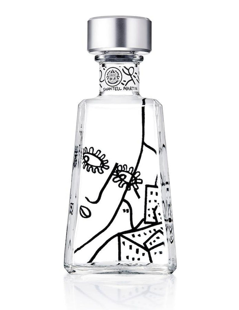 1800 Tequila Essential Artist Series 9 Shantell Martin - De Wine Spot | Curated Whiskey, Small-Batch Wines and Sakes