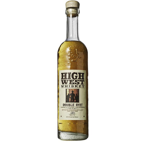 High West Double Rye Straight Whiskey - De Wine Spot | Curated Whiskey, Small-Batch Wines and Sakes