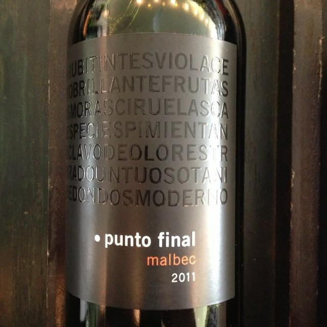 Bodega Renacer Punto Final Malbec - De Wine Spot | Curated Whiskey, Small-Batch Wines and Sakes