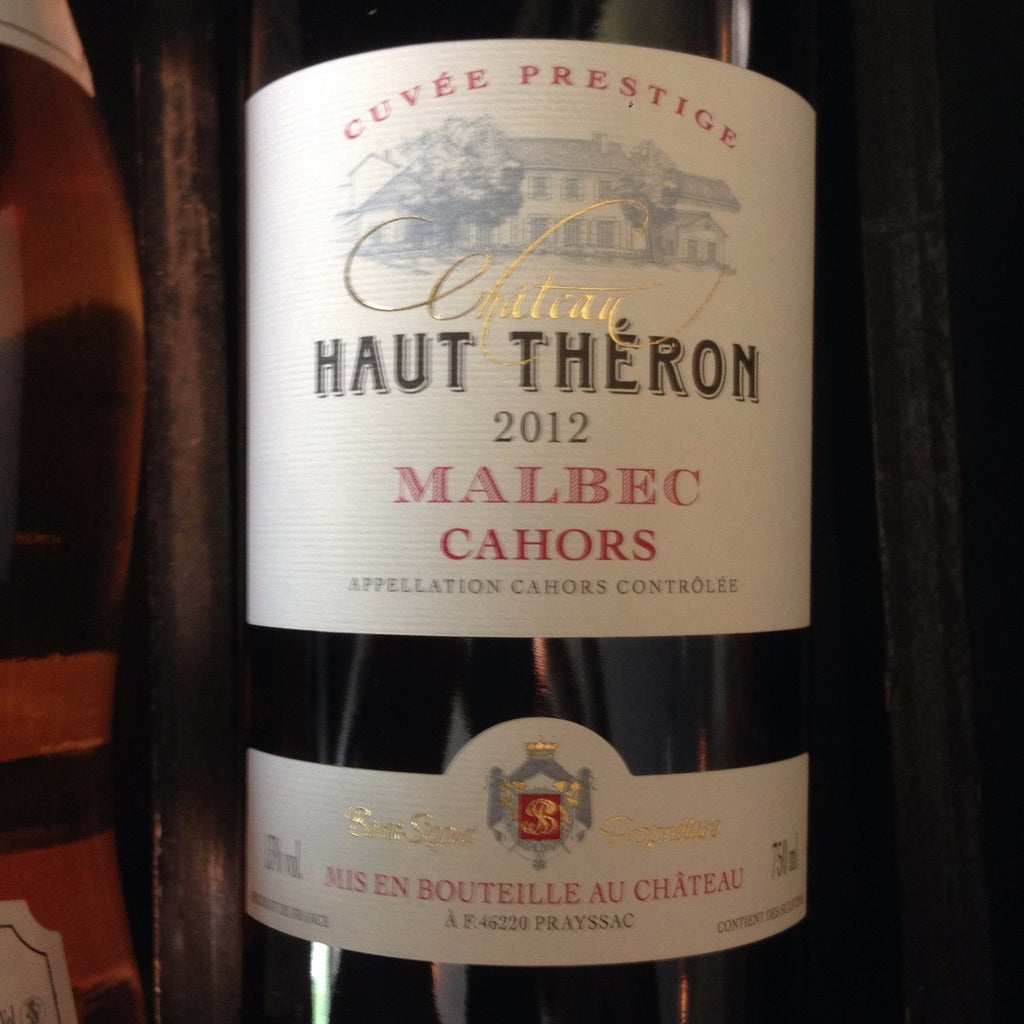 Chateau Haut Theron Cuvee Prestige Cahors Malbec - De Wine Spot | Curated Whiskey, Small-Batch Wines and Sakes