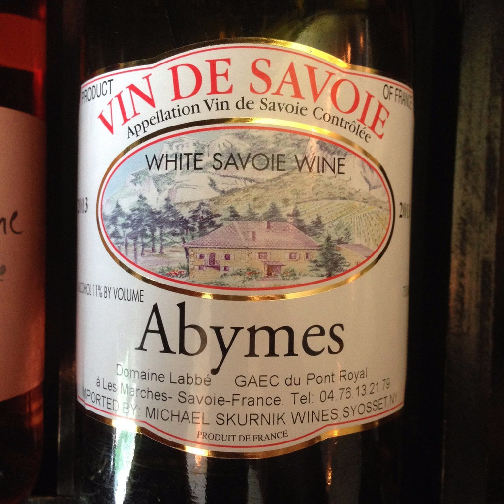 Domaine Labbe Vin de Savoie Abymes Jacquere - De Wine Spot | Curated Whiskey, Small-Batch Wines and Sakes