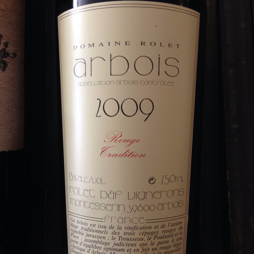 Domaine Rolet Rouge Tradition Arbois Poulsard Trousseau - De Wine Spot | Curated Whiskey, Small-Batch Wines and Sakes