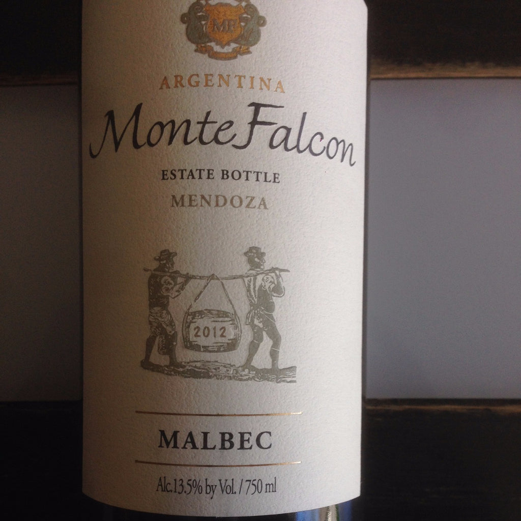 Monte Falcon Malbec | De Wine Spot - Curated Whiskey, Small-Batch Wines and Sakes