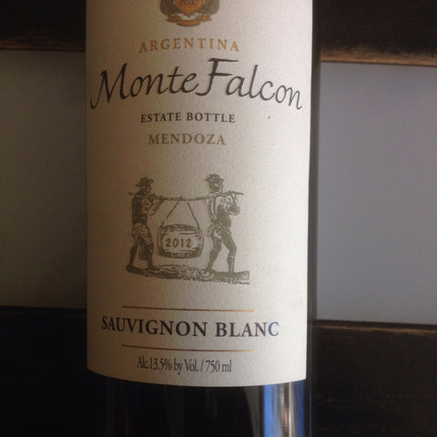 Monte Falcon Sauvignon Blanc - De Wine Spot | Curated Whiskey, Small-Batch Wines and Sakes