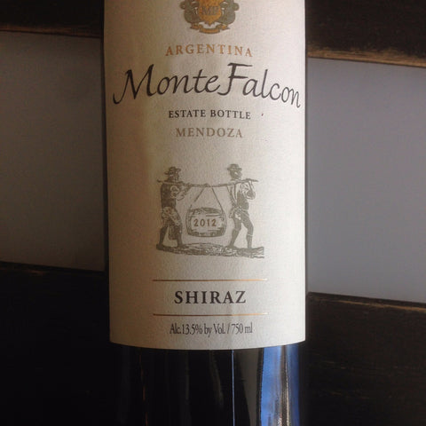 Monte Falcon Shiraz | De Wine Spot - Curated Whiskey, Small-Batch Wines and Sakes