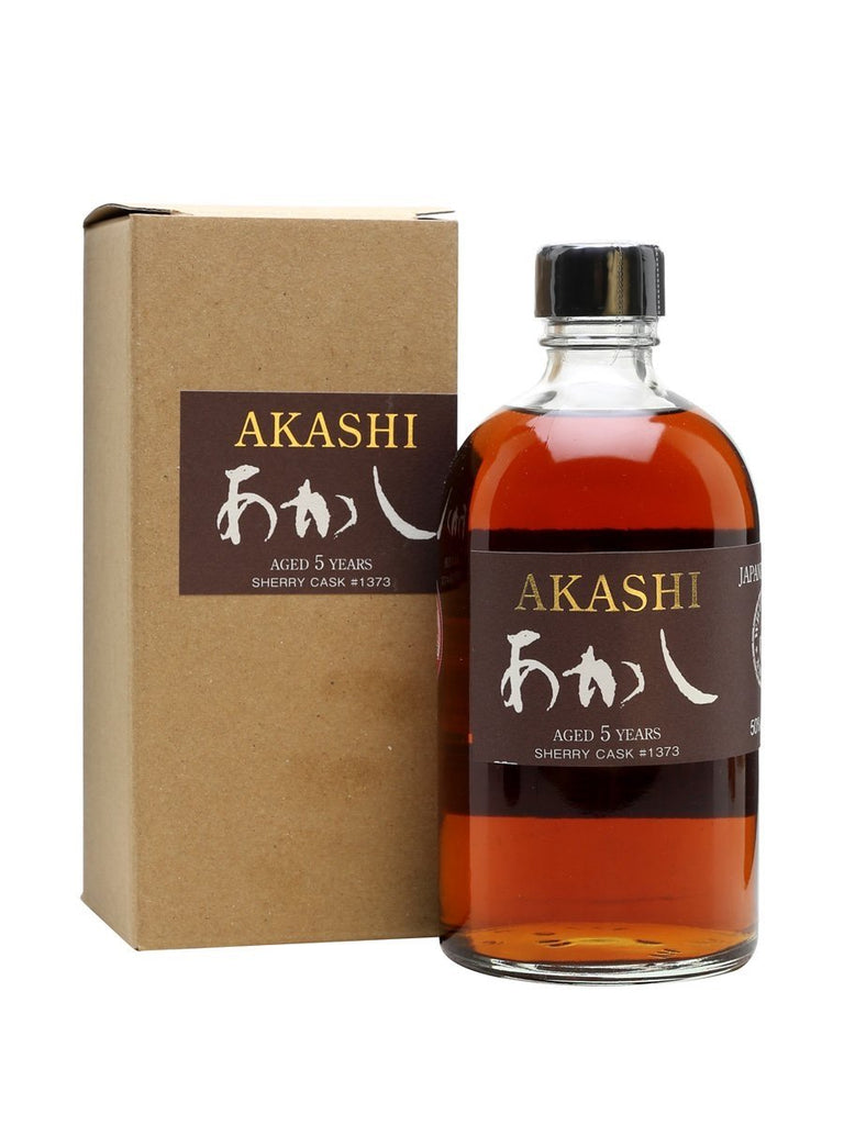 Akashi 5 Years Sherry Cask Single Malt Whisky - De Wine Spot | Curated Whiskey, Small-Batch Wines and Sakes