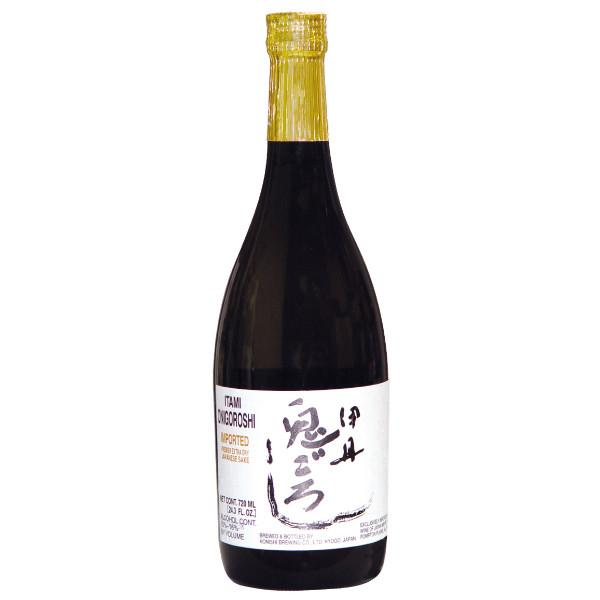Itami Onigoroshi Junmai Sake | De Wine Spot - Curated Whiskey, Small-Batch Wines and Sakes