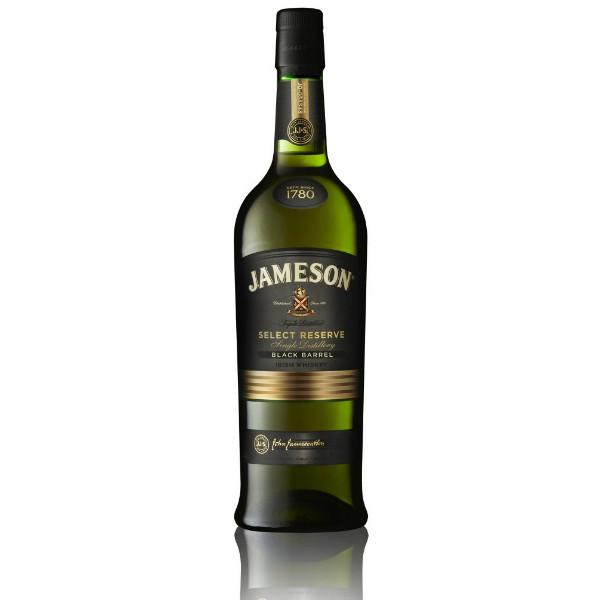 Jameson Black Barrel Select Reserve Irish Whiskey - De Wine Spot | Curated Whiskey, Small-Batch Wines and Sake Collection  - 1