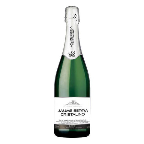 Jaume Serra Cristalino Brut Cava | De Wine Spot - Curated Whiskey, Small-Batch Wines and Sakes