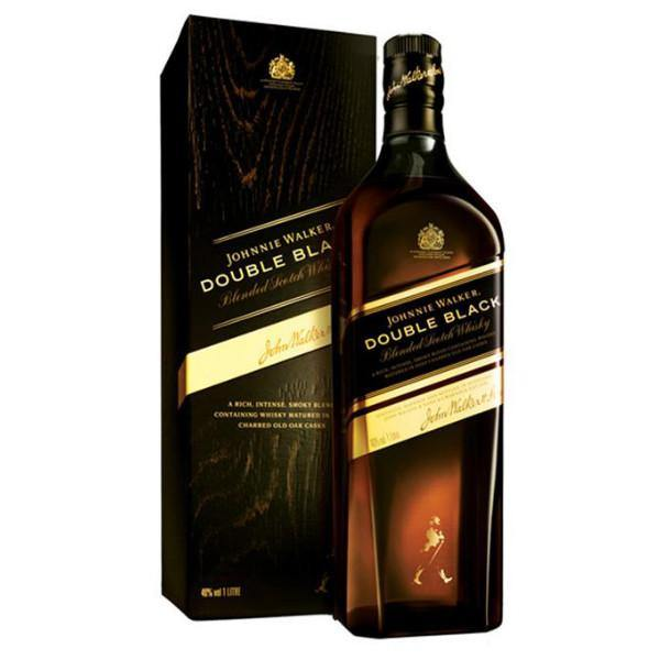 Johnnie Walker Double Black Label Scotch Whisky - De Wine Spot | Curated Whiskey, Small-Batch Wines and Sake Collection  - 1