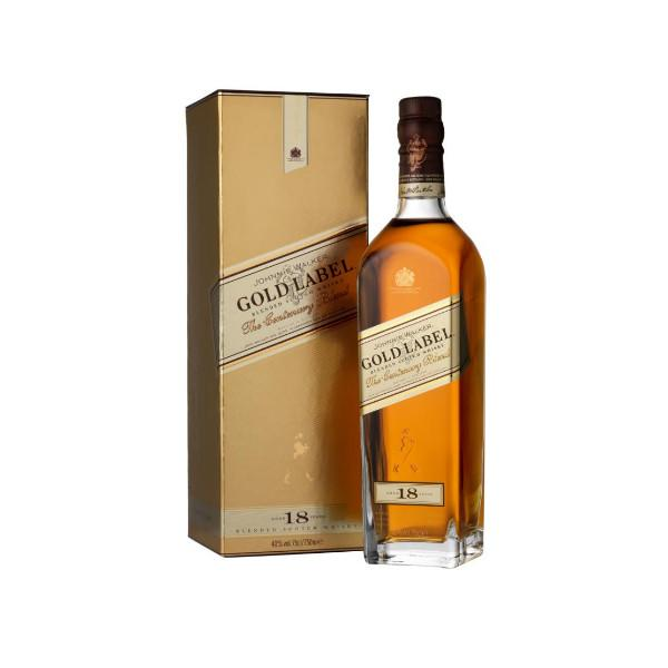 Johnnie Walker Gold Label 18 Year Old Scotch Whisky - De Wine Spot | Curated Whiskey, Small-Batch Wines and Sakes