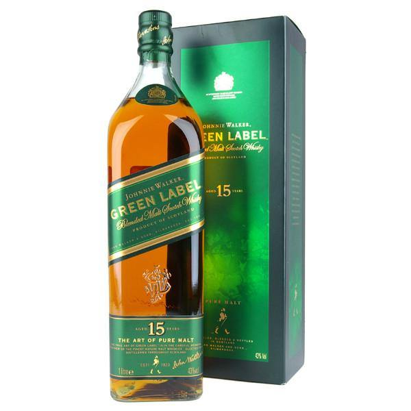 Johnnie Walker Green Label 15 Year Old Scotch Whisky - De Wine Spot | Curated Whiskey, Small-Batch Wines and Sake Collection  - 2
