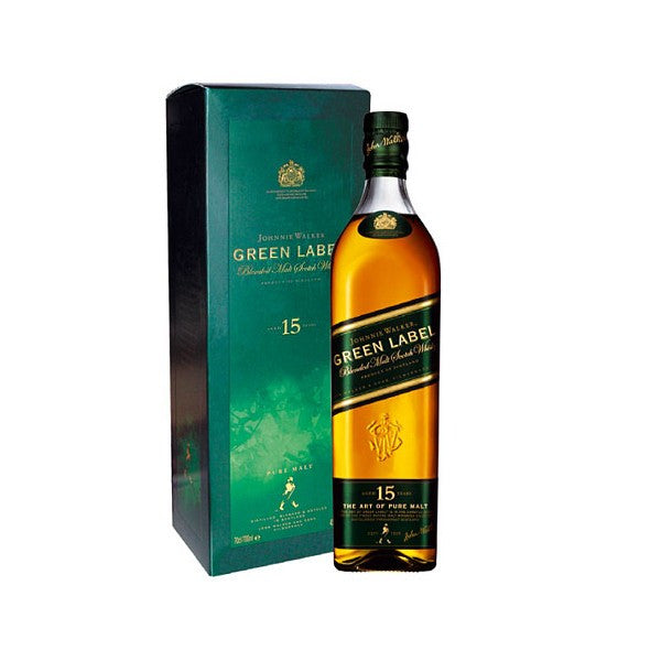Johnnie Walker Green Label 15 Year Old Scotch Whisky - De Wine Spot | Curated Whiskey, Small-Batch Wines and Sake Collection  - 1