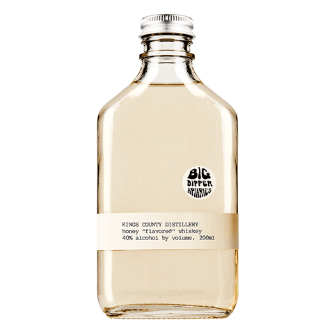 "Kings County Distillery Big Dipper Apiaries Honey ""Flavored"" Moonshine Whiskey - De Wine Spot 