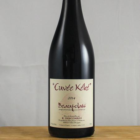 Kewin Descombes Beaujolais Cuvee Keke | De Wine Spot - Curated Whiskey, Small-Batch Wines and Sakes