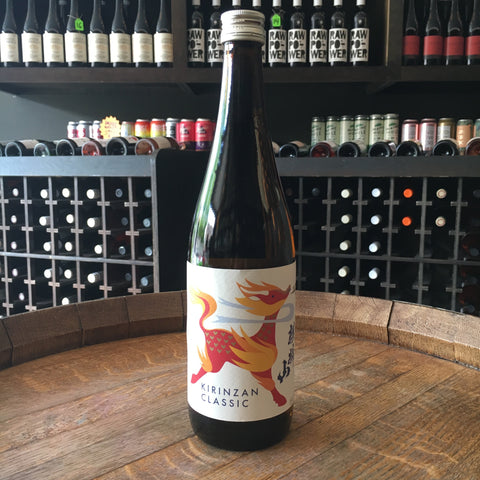 Kirinzan Shuzo Classic Junmai Sake - De Wine Spot | Curated Whiskey, Small-Batch Wines and Sakes