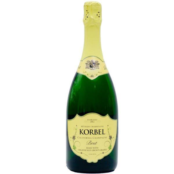 Korbel Brut California Sparkling Wine Champagne Blend - De Wine Spot | Curated Whiskey, Small-Batch Wines and Sake Collection