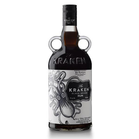 Kraken Black Spiced Rum | De Wine Spot - Curated Whiskey, Small-Batch Wines and Sakes