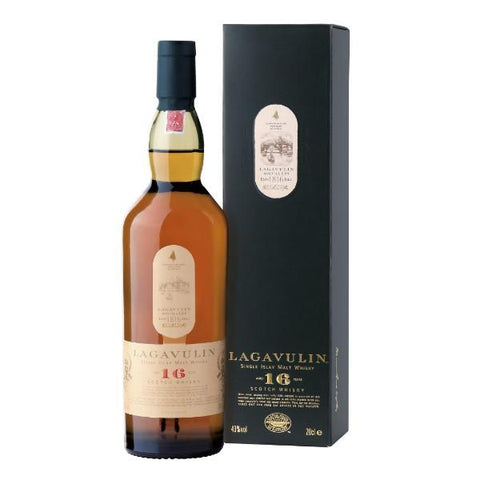 Lagavulin 16 Years Old Islay Single Malt Scotch Whisky | De Wine Spot - Curated Whiskey, Small-Batch Wines and Sakes