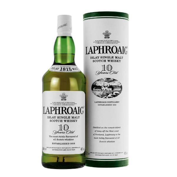Laphroaig 10 Year Old Scotch Whisky - De Wine Spot | Curated Whiskey, Small-Batch Wines and Sake Collection