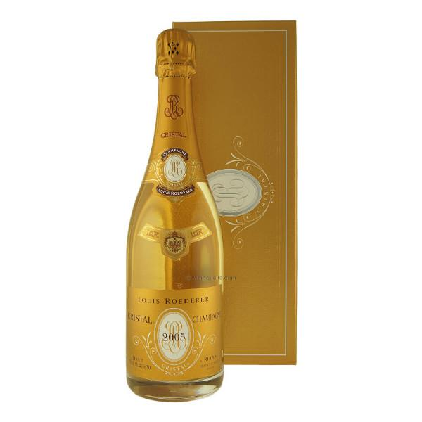 Louis Roederer Cristal Brut Champagne - De Wine Spot | Curated Whiskey, Small-Batch Wines and Sake Collection