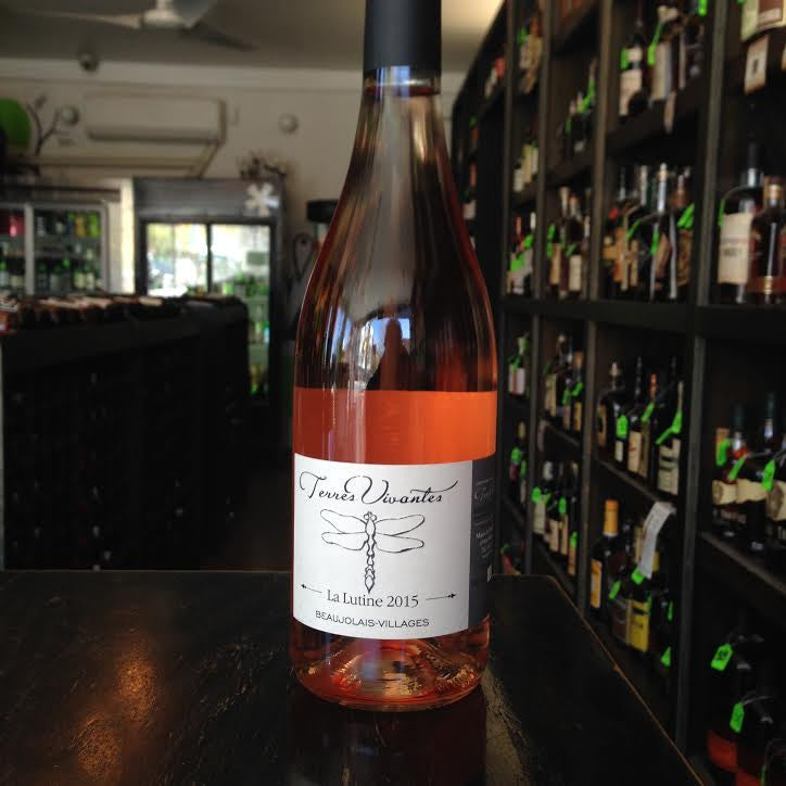 "Domaine des Terres Vivantes ""La Lutine"" Beaujolais-Villages Rose 