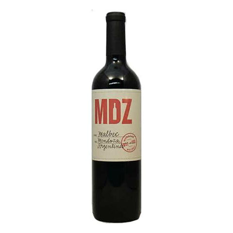 MDZ Malbec - De Wine Spot | Curated Whiskey, Small-Batch Wines and Sakes