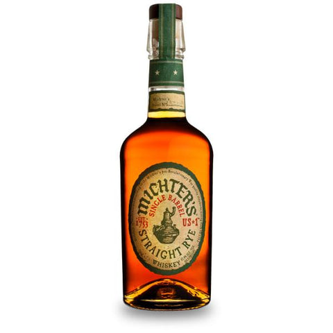 Michters US*1 Single Barrel Straight Rye Whiskey | De Wine Spot - Curated Whiskey, Small-Batch Wines and Sakes