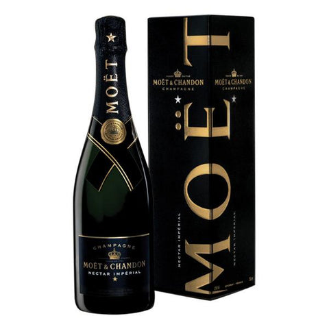 Moet & Chandon Champagne Nectar Imperial | De Wine Spot - Curated Whiskey, Small-Batch Wines and Sakes
