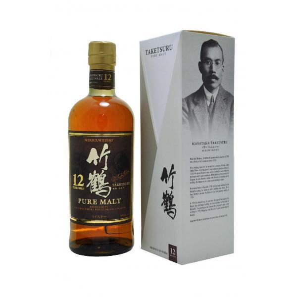 Nikka Taketsuru 12 year old Whisky - De Wine Spot | Curated Whiskey, Small-Batch Wines and Sake Collection