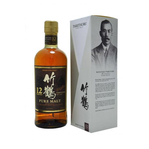 Nikka Taketsuru 12 Year old Whisky - De Wine Spot | Curated Whiskey, Small-Batch Wines and Sakes