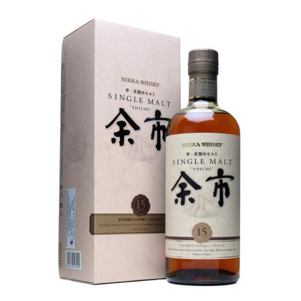 Nikka 15 year old Yoichi Single Malt Whisky | De Wine Spot - Curated Whiskey, Small-Batch Wines and Sakes