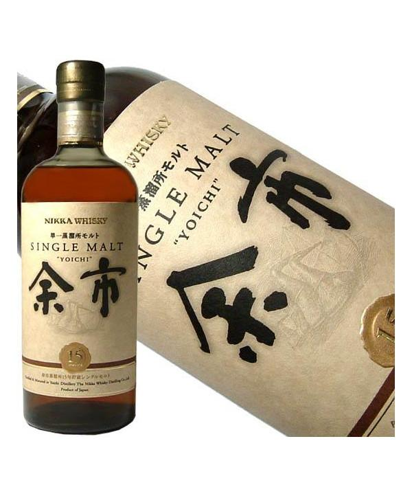 Nikka 15 year old Yoichi Single Malt Whisky - De Wine Spot | Curated Whiskey, Small-Batch Wines and Sakes