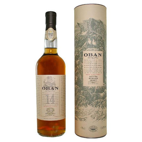 Oban 14 Years Old Single Malt Scotch Whisky - De Wine Spot | Curated Whiskey, Small-Batch Wines and Sakes