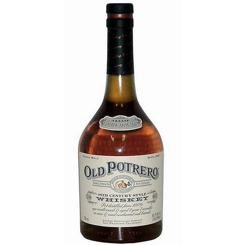 Anchor Distilling Co Old Potrero 18th Century Style Whiskey - De Wine Spot | Curated Whiskey, Small-Batch Wines and Sakes