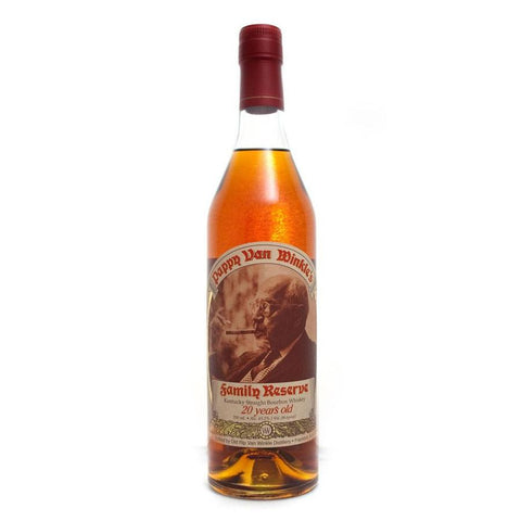 Old Rip Van Winkle Bourbon Family Reserve 20 Year Old Pappy Van Winkle | De Wine Spot - Curated Whiskey, Small-Batch Wines and Sakes