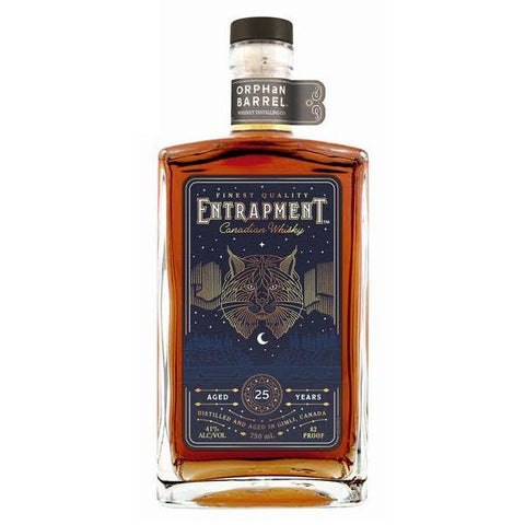 Orphan Barrel Entrapment Aged 25 Years Canadian Whisky - De Wine Spot | Curated Whiskey, Small-Batch Wines and Sakes