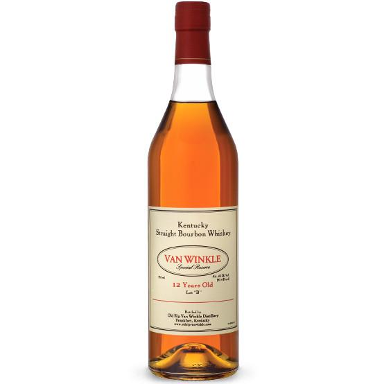 Old Rip Van Winkle Bourbon Special Reserve 12 Year Old Lot B - De Wine Spot | Curated Whiskey, Small-Batch Wines and Sake Collection