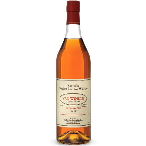Old Rip Van Winkle Bourbon Special Reserve 12 Year Old Lot B | De Wine Spot - Curated Whiskey, Small-Batch Wines and Sakes