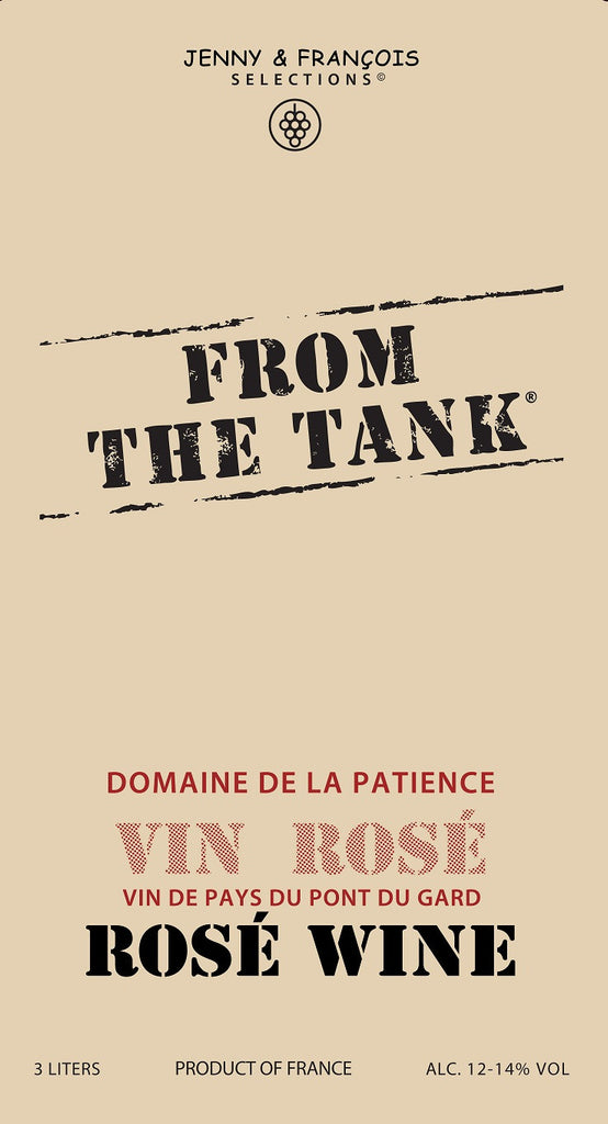 From the Tank Coteaux du Pont du Gard Vin Rose - De Wine Spot | Curated Whiskey, Small-Batch Wines and Sakes
