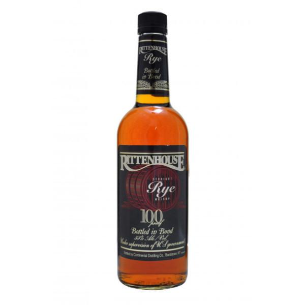 Rittenhouse Straight Rye Whisky - De Wine Spot | Curated Whiskey, Small-Batch Wines and Sakes