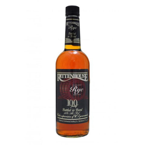 Rittenhouse Straight Rye Whisky | De Wine Spot - Curated Whiskey, Small-Batch Wines and Sakes