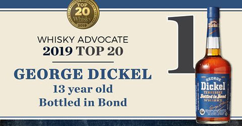 George Dickel 13 Year Bottled in Bond Tennessee  Whiskey - De Wine Spot | Curated Whiskey, Small-Batch Wines and Sakes