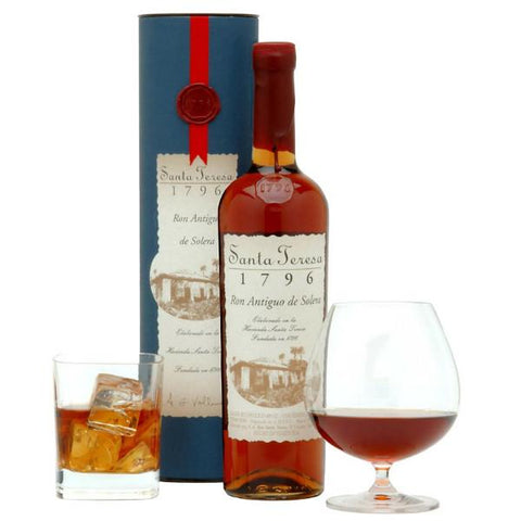 Santa Teresa Ron Antiguo De Solera 1796 Rum | De Wine Spot - Curated Whiskey, Small-Batch Wines and Sakes
