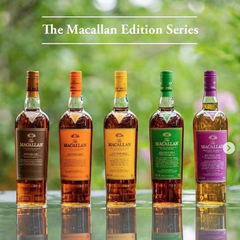 Macallan Edition (1-5) Single Malt Scotch Whisky Collection