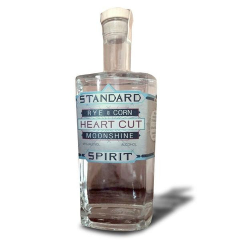 Standard Spirit Distillery Rye and Corn Heart Cut Moonshine | De Wine Spot - Curated Whiskey, Small-Batch Wines and Sakes