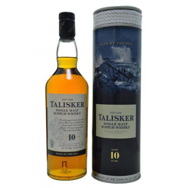 Talisker 10 Years Old Single Malt Scotch Whisky | De Wine Spot - Curated Whiskey, Small-Batch Wines and Sakes