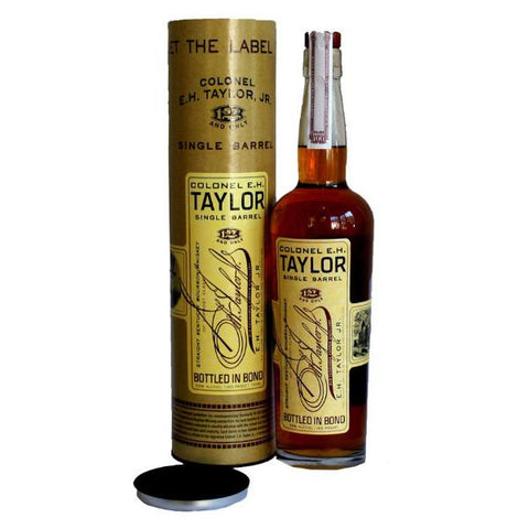 The Colonel E.H. Taylor Single Barrel Bourbon Whiskey - De Wine Spot | Curated Whiskey, Small-Batch Wines and Sakes