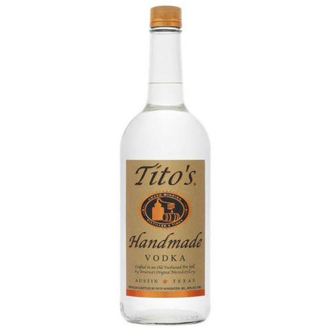 Tito's Handmade Vodka - De Wine Spot | Curated Whiskey, Small-Batch Wines and Sakes