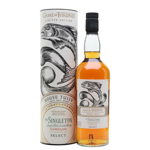 "Game of Thrones ""House Tully"" Singleton of Glendullan Select"